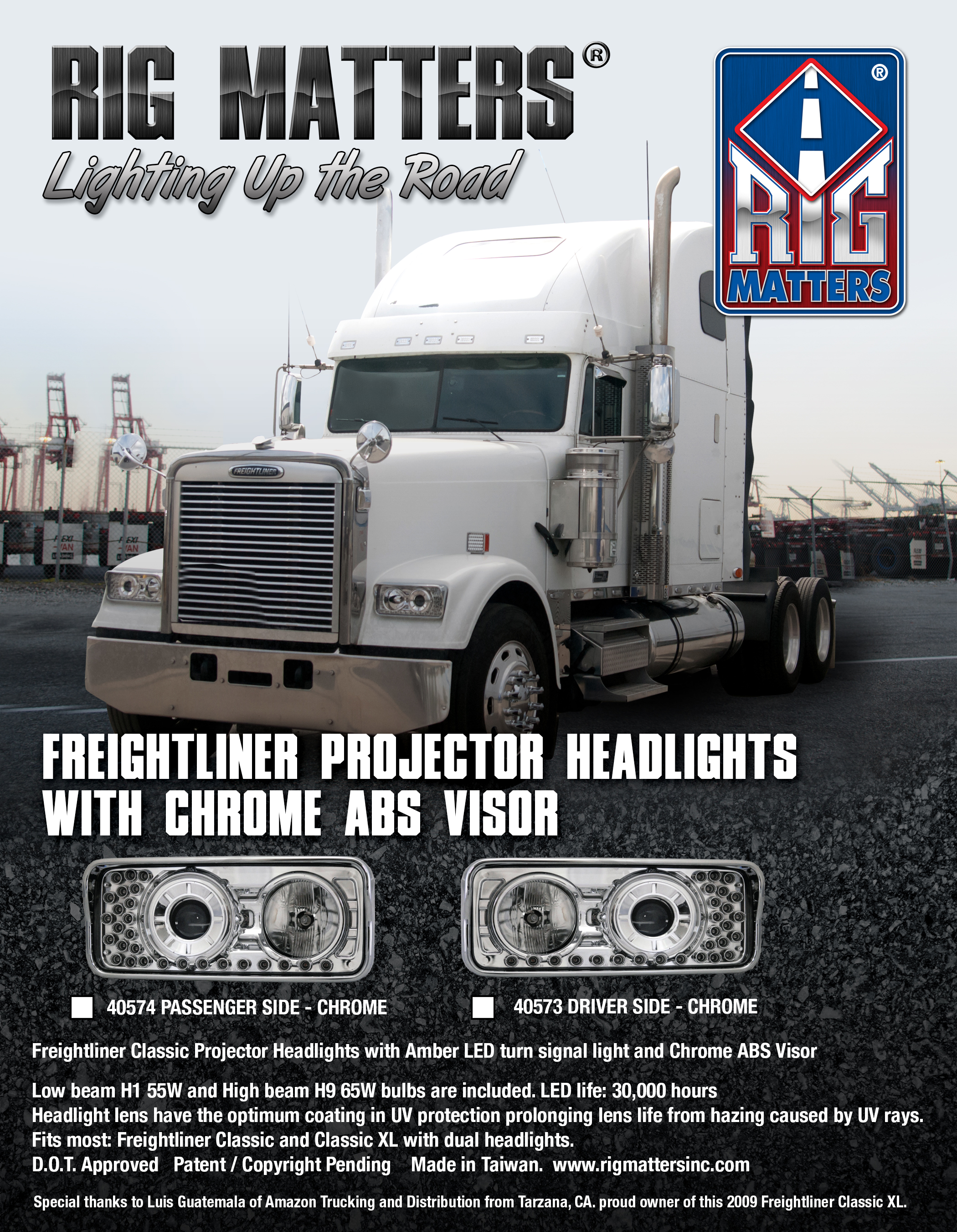 FREIGHTLINER Headlights