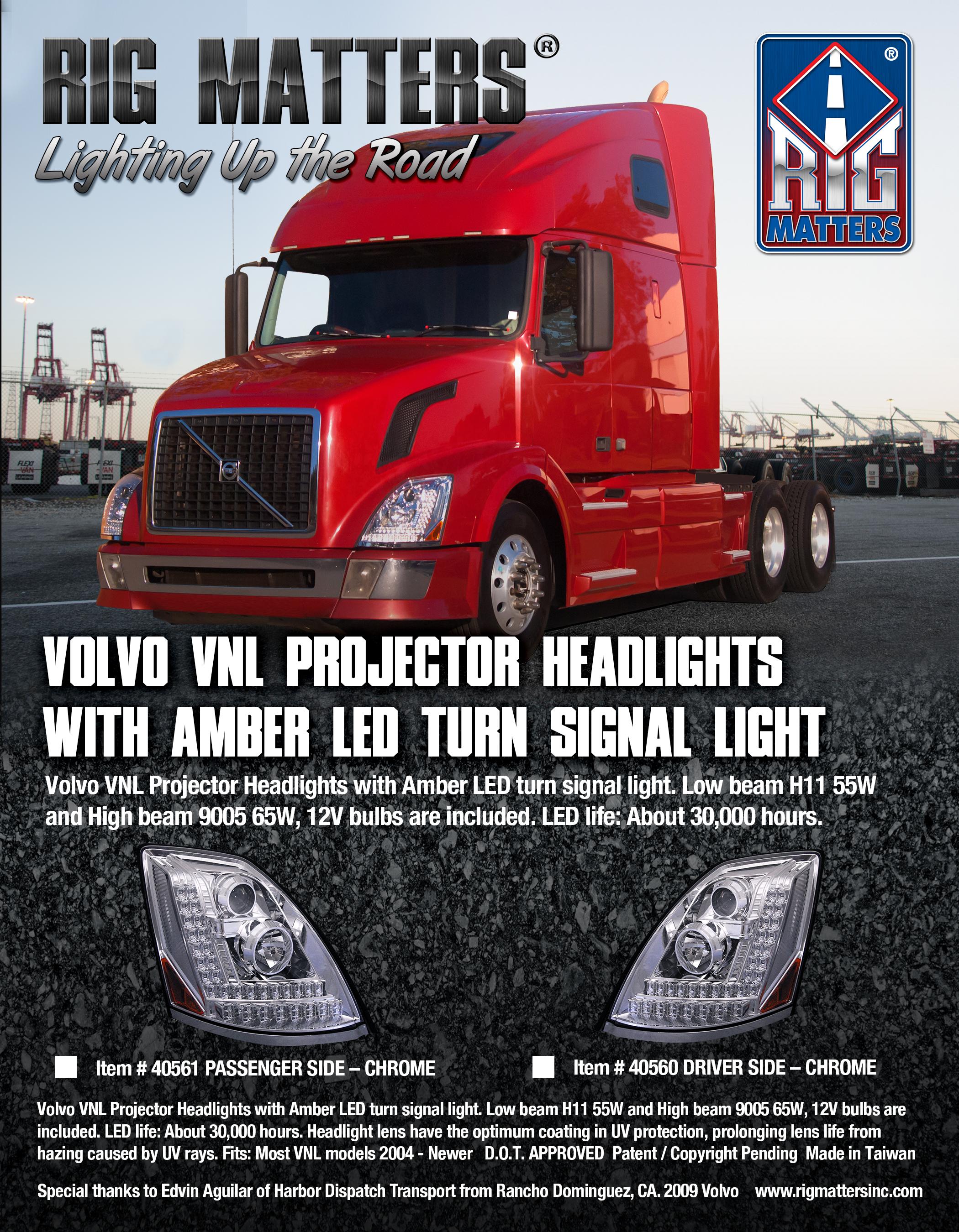 VOLVO Headlights
